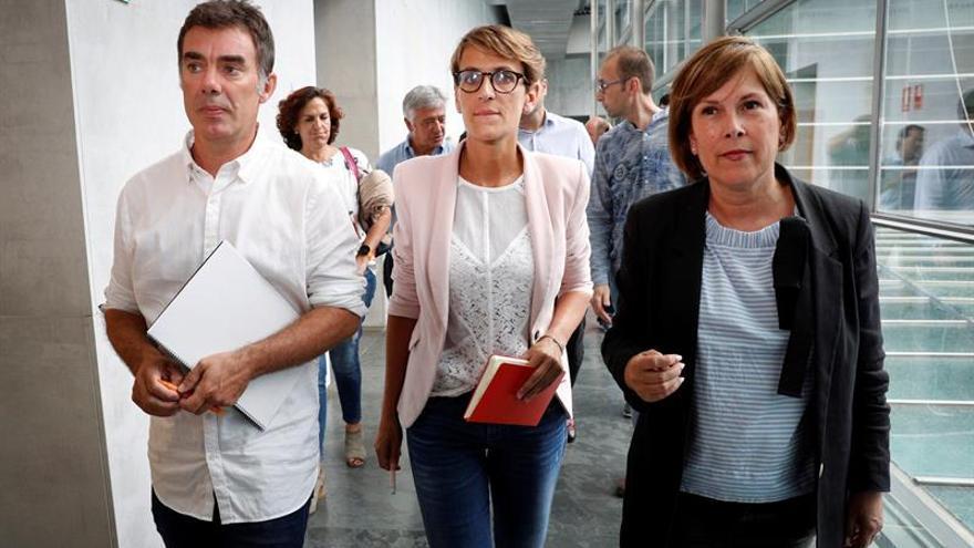PSN niega contactos con Bildu y ciñe su compromiso a Geroa Bai, Podemos e I-E