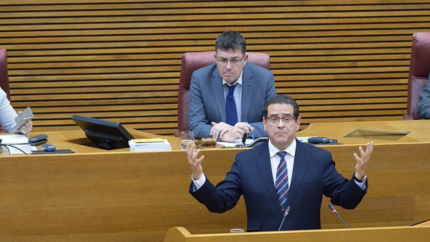 Jorge Bellver, portavoz adjunto del PP en les Corts valencianes