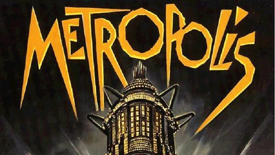 Cartel de 'Metrópolis', de Fritz Lang