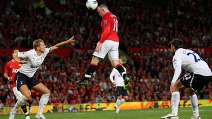 Rooney Remata Contra El Tottenham