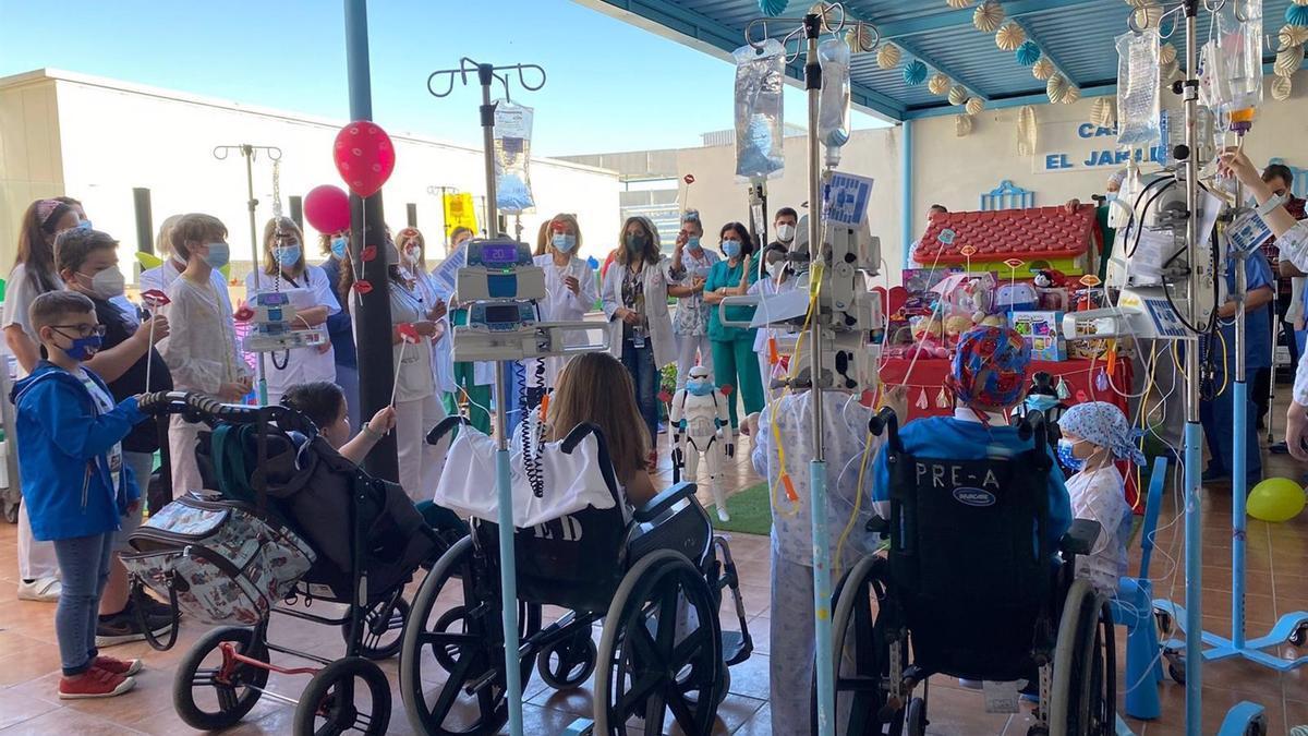 Celebración del Día del Niño Hospitalizado en el Hospital Universitario Reina Sofía.