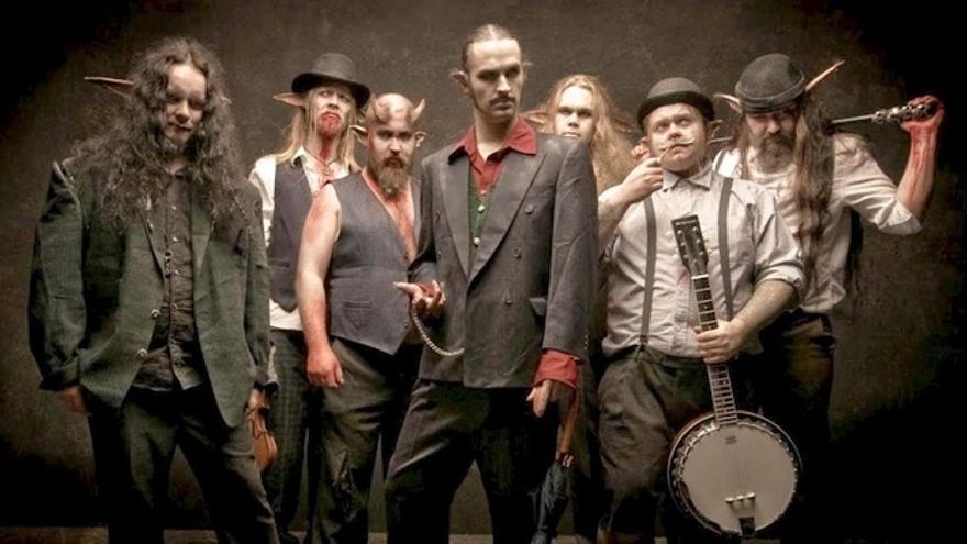 El Teatro Metálico trae por primera vez a Canarias a los grupos de rock Finntroll y Deville