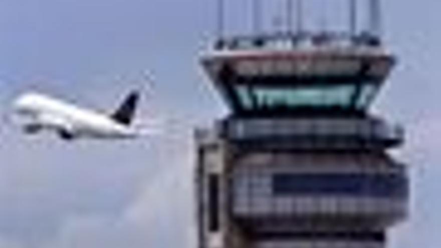 Avió i torre de control