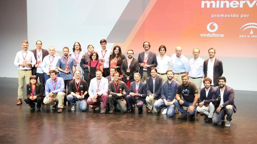 Foto de familia de los participantes en la cuarta edición del Proyecto Minerva