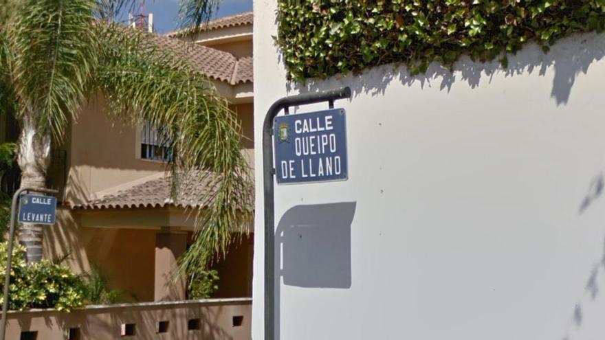 Calle Queipo de Llanos (San Javier, Murcia).