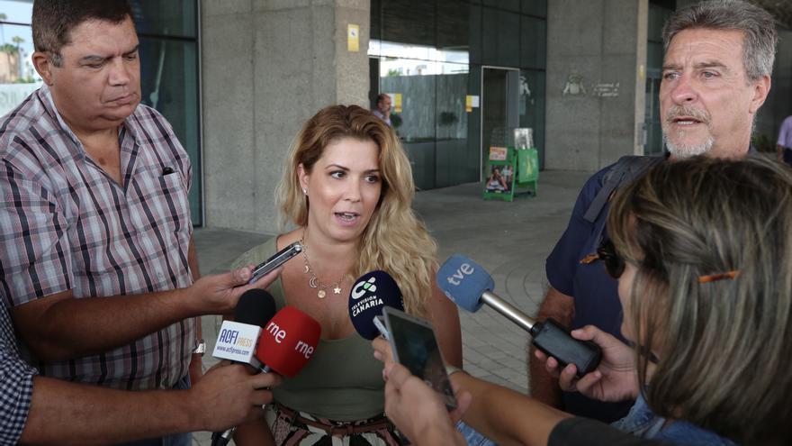 La cabeza de lista de la confluencia Más País y Equo por la provincia de Las Palmas al Congreso de los Diputados, Ylenia Pulido.