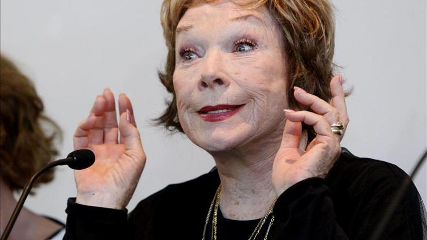 Shirley Maclaine: No soy una luchadora, nunca he peleado por un papel