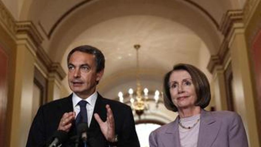 """Zapatero ofrece a EEUU una """"relación fraterna y de trabajo conjunto"""""""