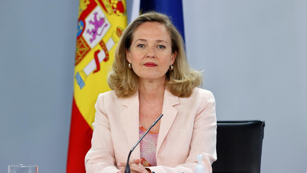 La vicepresidenta segunda del Gobierno y ministra de Asuntos Económicos y Transformación Digital, Nadia Calviño, en una imagen de archivo.