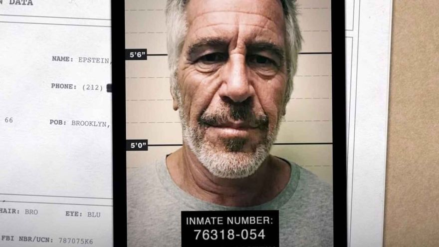 Ficha policial de Jeffrey Epstein