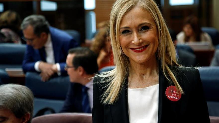 El PSOE de Madrid no descarta una moción de censura contra Cifuentes