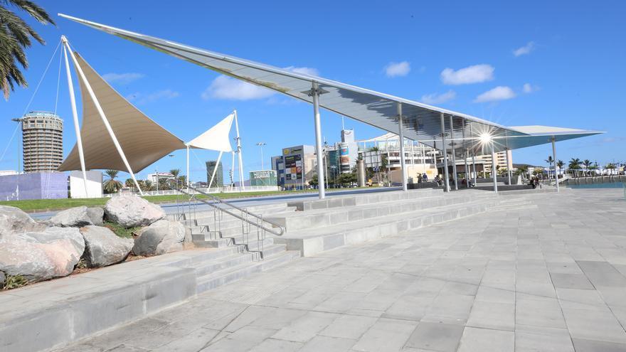 Frente Marítimo de Las Palmas de Gran Canaria, zona recién inaugurada.