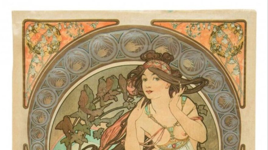 `La Musique´, Alphonse Mucha (1891)