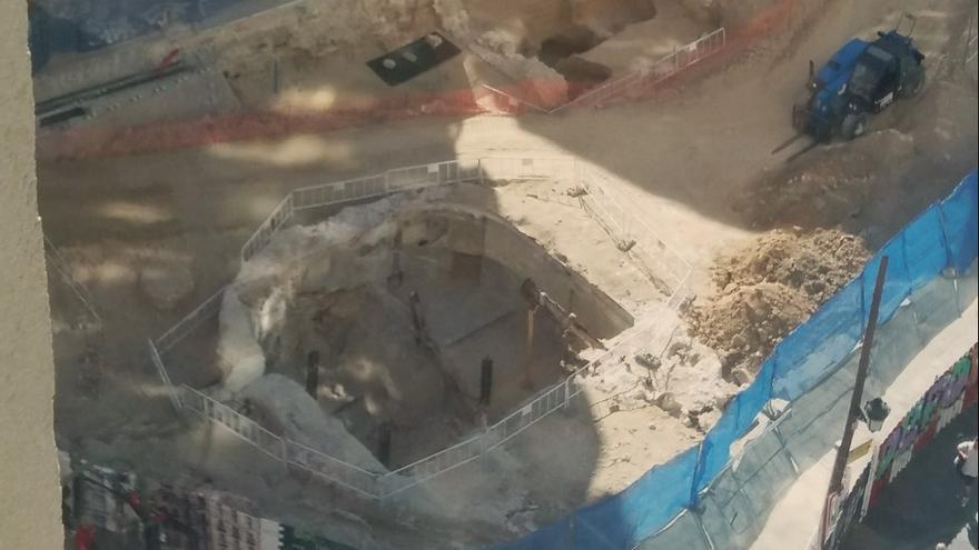 Estado de las obras en Gran Vía a inicios de mes   @ZEQUE_LIN