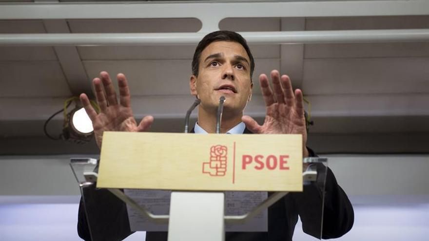 """Sánchez: """"No me planteo dimitir"""""""