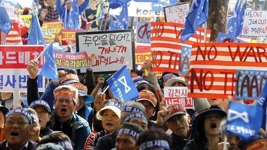 Corea del Sur adquiere los terrenos para el sistema antimisiles THAAD de EEUU
