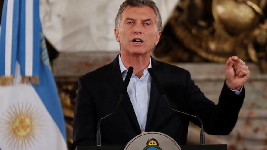 Macri dice que el pacto con el FMI y un presupuesto confiable reactivaran la economía