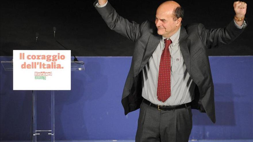 Bersani ganará las elecciones con la incógnita del Senado, según los sondeos