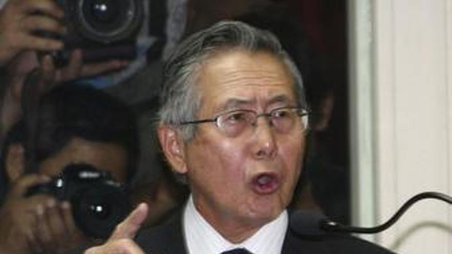 Fujimori acepta todos los cargos que se le imputan