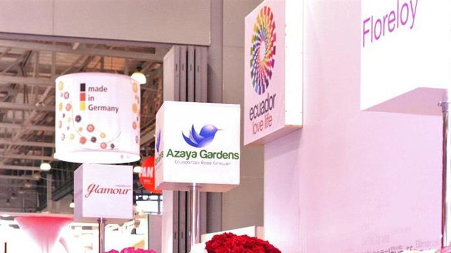 Ecuador exhibe en Moscú su liderazgo como primer exportador de flores a Rusia