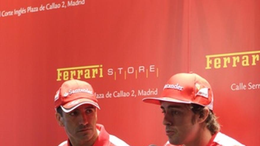 Fernando Alonso Y Marc Gené