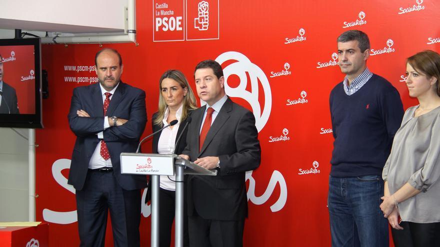 García-Page, alcalde de Toledo y candidato a la Junta de Comunidades de Castilla-La Mancha por el PSOE