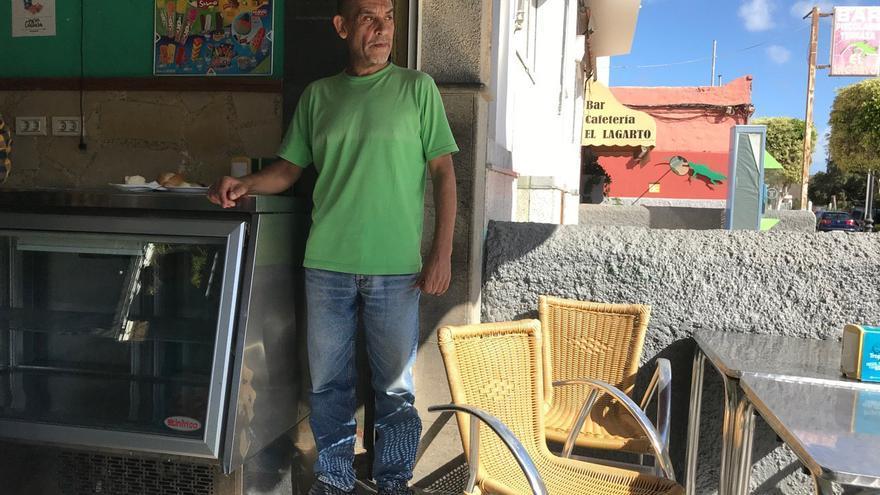 Rafael, vecino de Agüimes. (A.B.)
