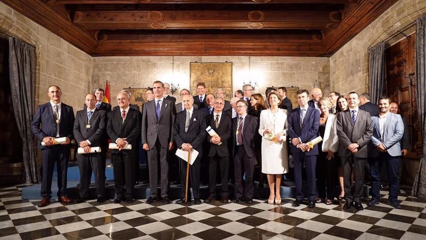 Acto de entrega de los premios Rey Jaime I.