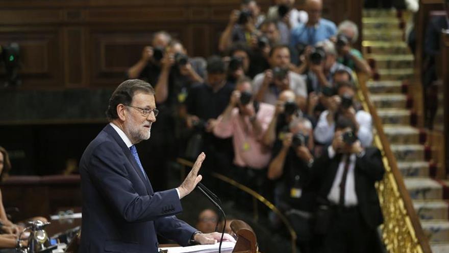 Rajoy inicia el discurso advirtiendo de que España necesita un Gobierno con urgencia