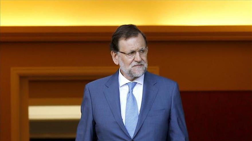Rajoy recibirá mañana a Rivera en Moncloa para abordar la situación en Cataluña