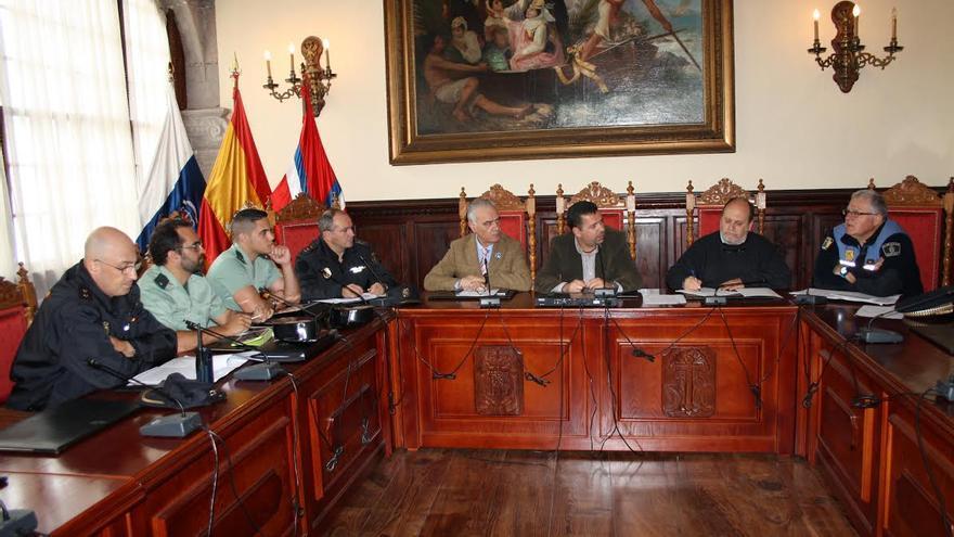 Imagen de archivo de la Junta Local de Seguidad de Santa Cruz de La Palma.