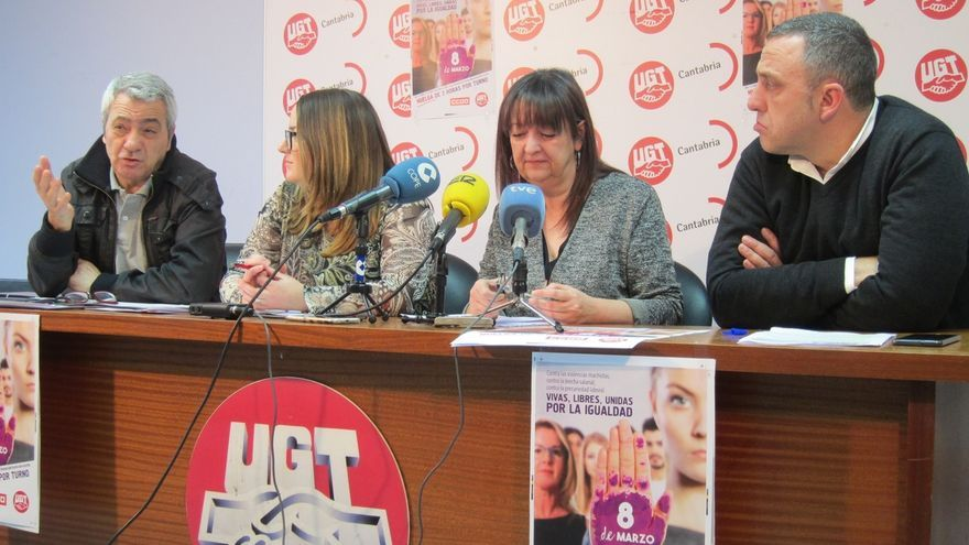 UGT y CCOO se movilizarán el 8 de marzo para exigir soluciones contra la discriminación y la desigualdad de la mujer