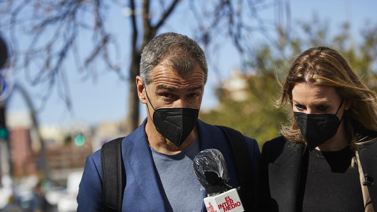 Toni Cantó comunicó su salida de Ciudadanos tras abandonar la reunión de la dirección del partido en la que le propusieron formar parte del núcleo duro
