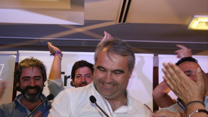 Fragoso, tras su victoria en las elecciones / RSR