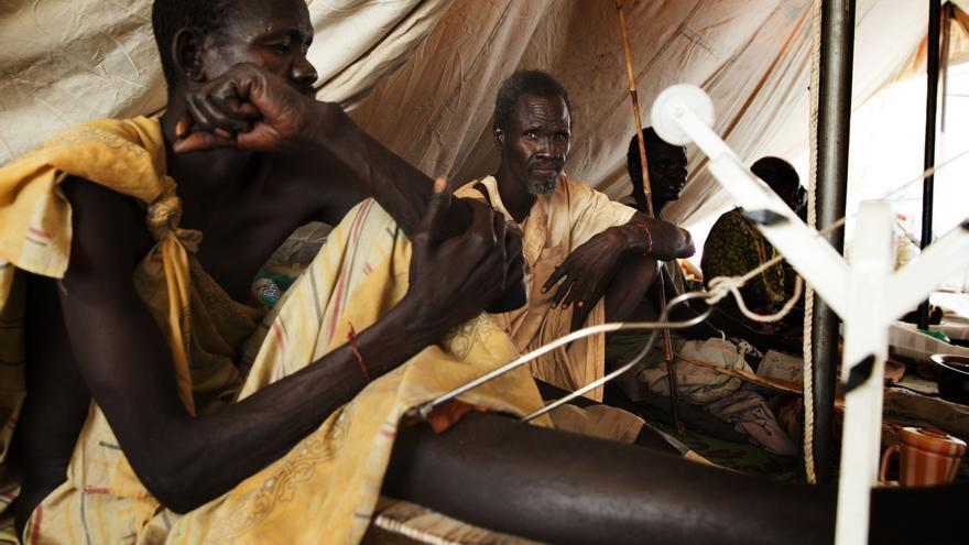 Los combates entre las fuerzas gubernamentales y de la oposición en febrero convirtieron Malakal en una ciudad fantasma. Malakal es la capital del estado de Sudán del Sur que produce más petróleo/ Fotografía: Anna Surinyach/MSF