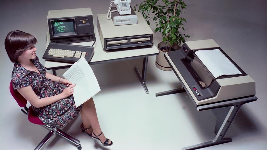 Los ordenadores Datapoint de los 70 estaban destinados a invadir las oficinas