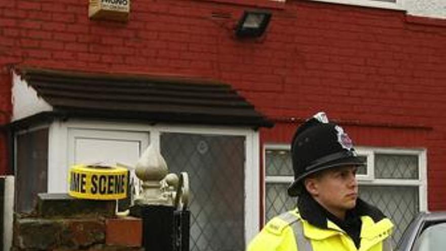 Policía en Reino Unido