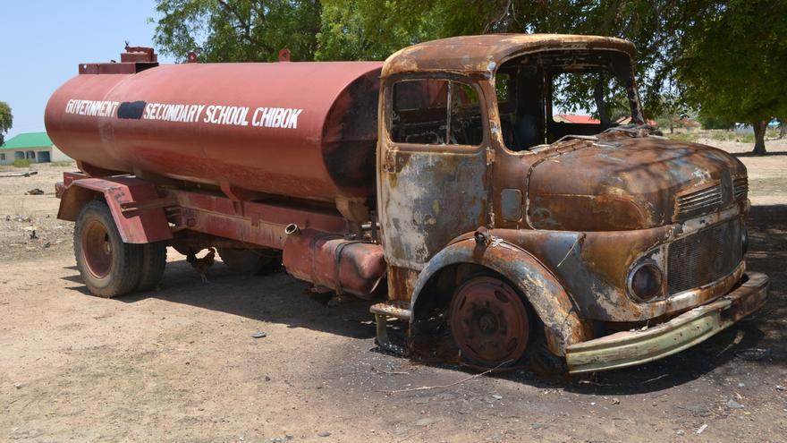 Camión de Chibok, Nigeria  © Particular