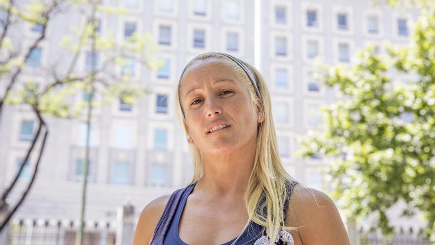 Cristina Muñoz, la exmilitar que denuncia acoso