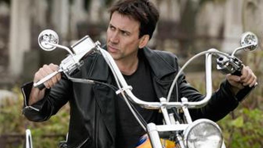 Nicolas Cage en El Motorista Fantasma