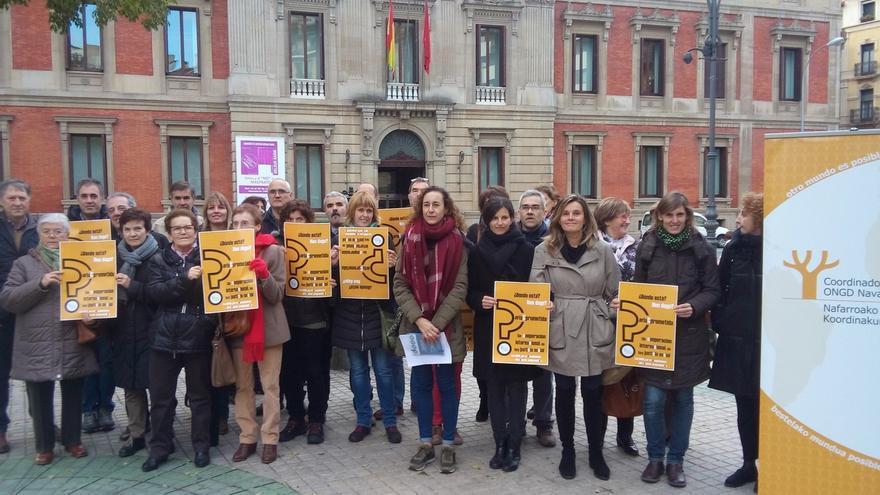 """Las ONG acusan al Gobierno de Navarra y el cuatripartito de """"incumplir el compromiso"""" con la cooperación"""