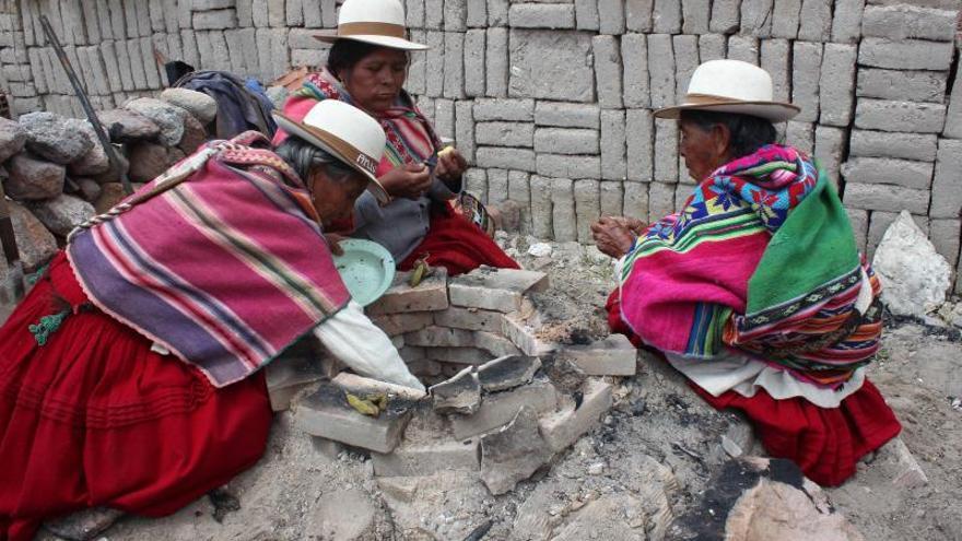 """Algas y hierbas medicinales, """"sabores silvestres"""" del altiplano boliviano"""