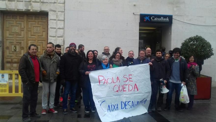 Activistas de la PAH de Guadalajara