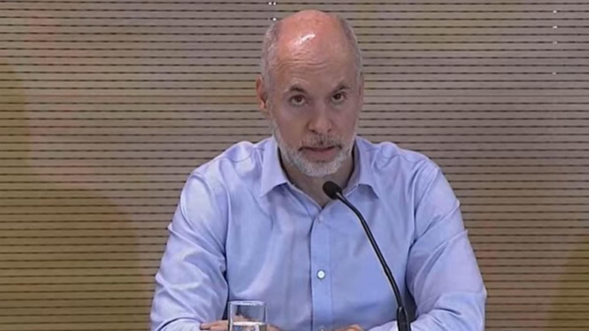 Rodríguez Larreta le respondió al presidente Alberto Fernández.