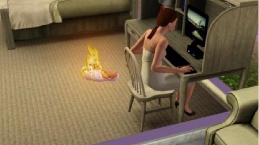 La lógica absurda de Los Sims