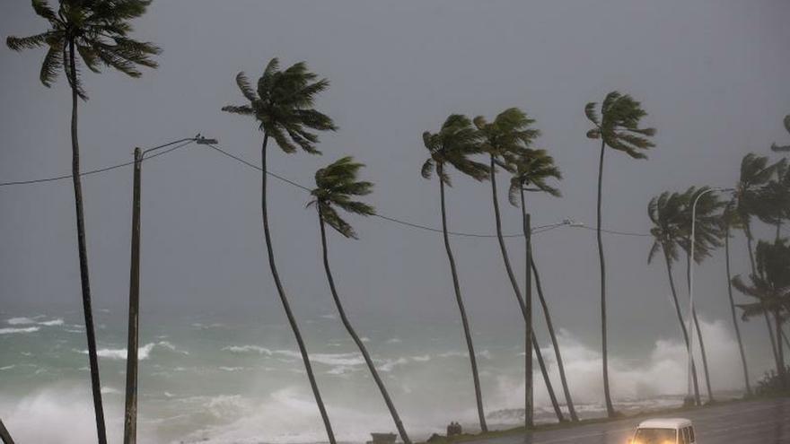 Tormenta tropical en el noreste de Puerto Rico.