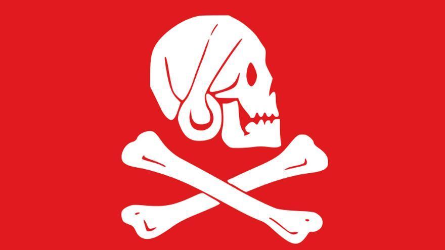 La célebre bandera pirata de Henry Avery