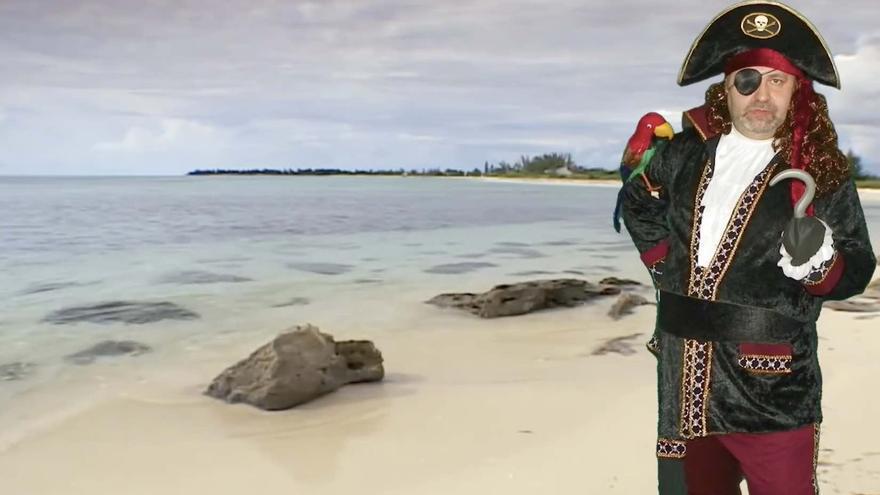 Angeloso, el único capitán de Isla Tortuga a día de hoy