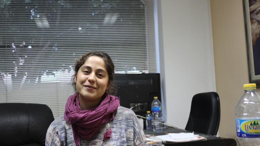 Lara Hernández, responsable federal de Convergencia de Izquierda Unida-Verdes / PSS