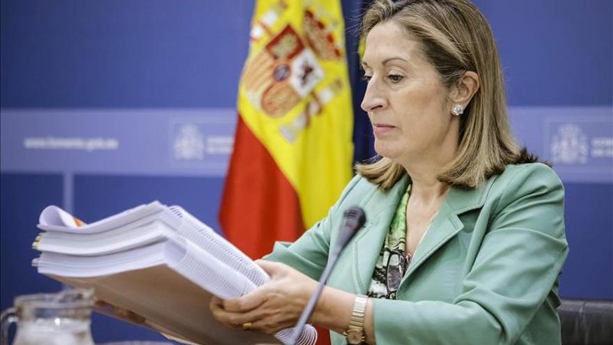 La ministra Ana Pastor, en una imagen de archivo.